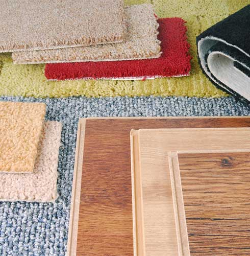 Carpet and Flooring Samples from Best Flooring SCV