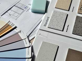 Color Selections for Flooring and Paint