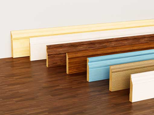 Wood Wall Base and Flooring Accessories